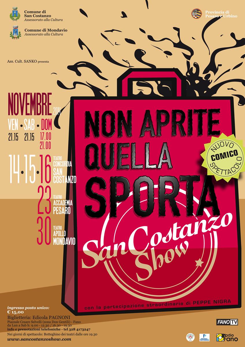 San Costanso Show - Non Aprite Quella Sporta