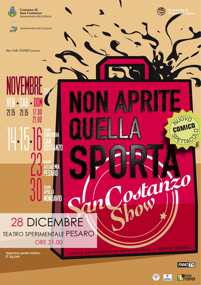 Non Aprite Quella Sporta - Il nuovo spettacolo comico del San Costanzo Show