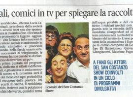 Riciclati speciali, comici in tv per spiegare la raccolta differenziata