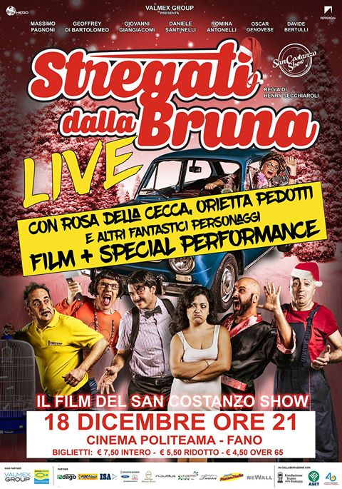 Evento speciale il 18 dicembre al Cinema Politeama di Fano!
