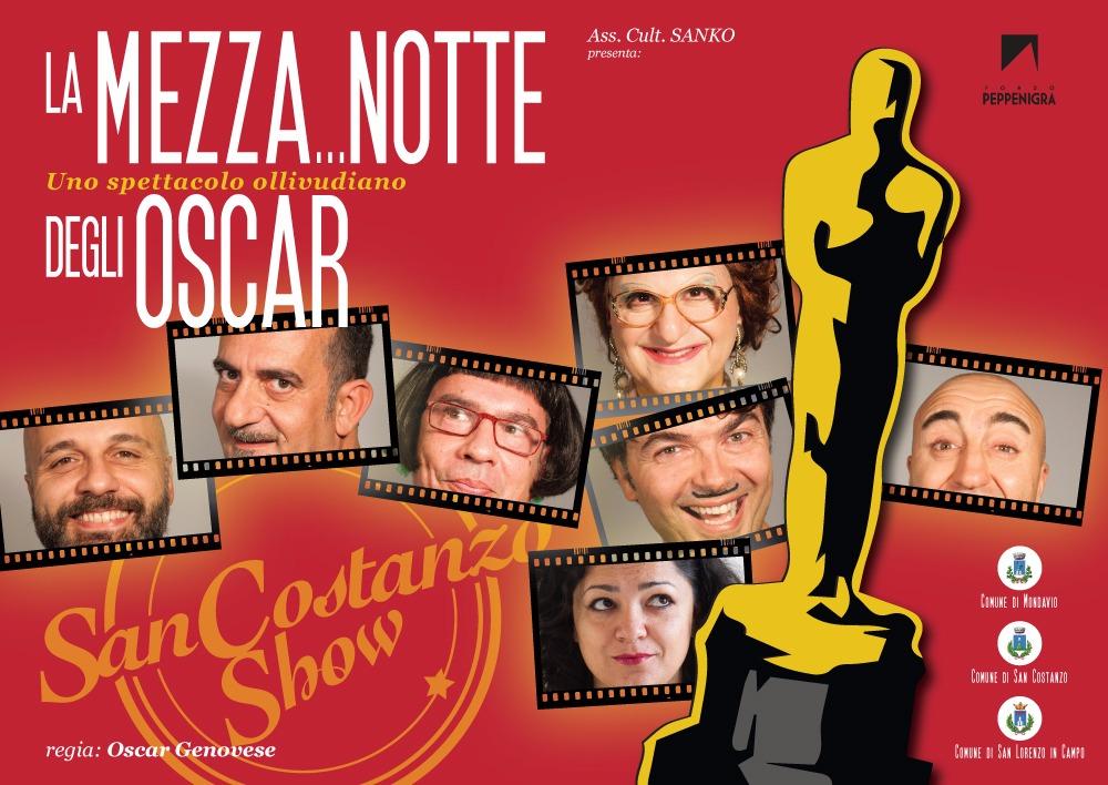 La Mezza...Notte degli Oscar - Uno spettacaolo Ollivudiano - San Costanzo Show