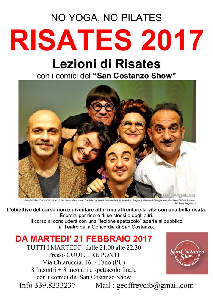 """""""Risates"""" torna il dal 21 febbraio 2017!"""