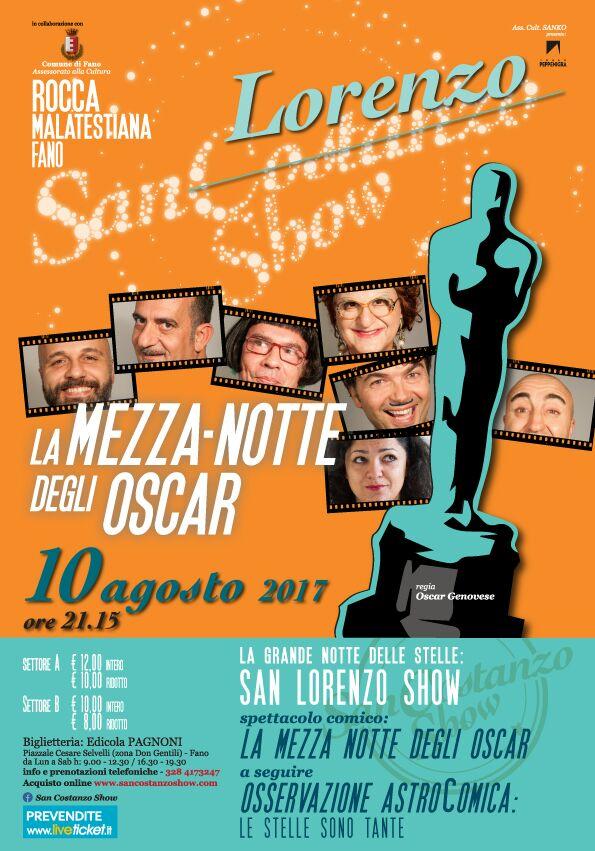 San Lorenzo Show - La Mezza..Notte degli Oscar