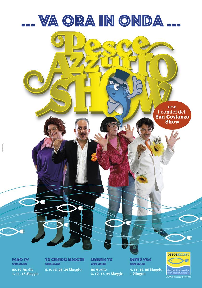 Pesce Azzurro Show San Costanzo Show