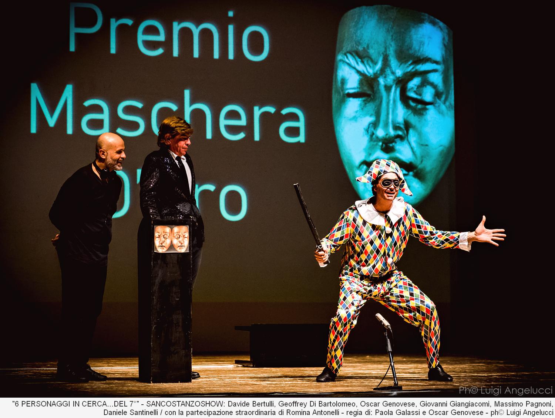6 Personaggi in cerca del 7° – San Costanzo Show – ph Luigi Angelucci